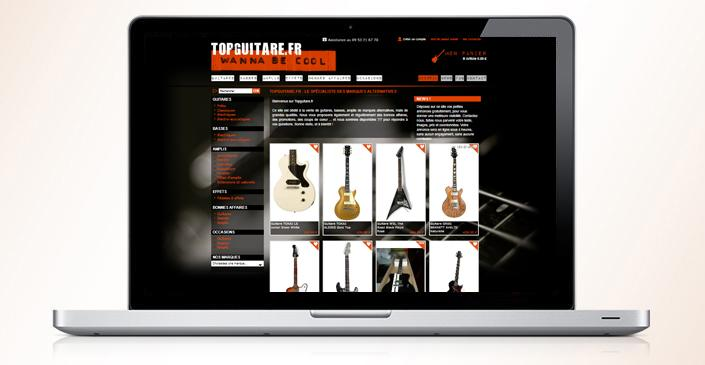 Boutique d'instruments de musique : Top Guitare