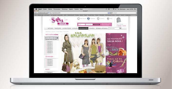 Boutique Mode Femme : Salsanova