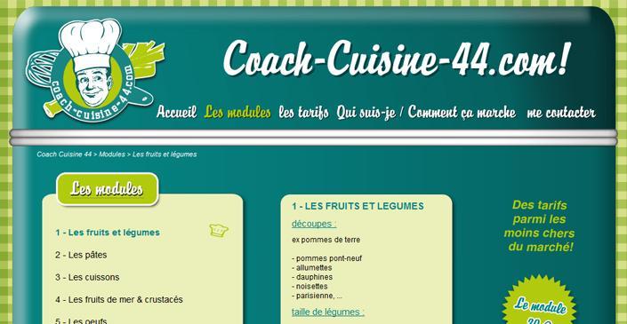 site vitrine coach-cuisine-44.com - Coach Cuisine A Domicile