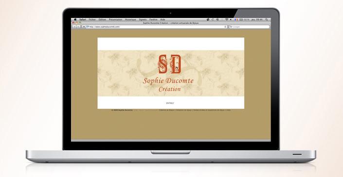 Créatrice de Bijoux : Sophie Ducomte
