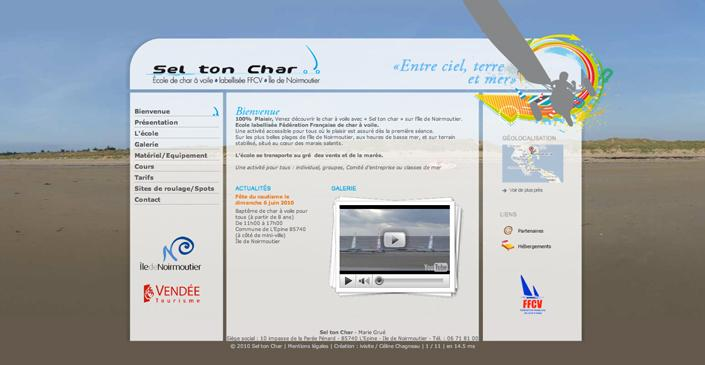 Ecole de Char à Voile : Sel ton Char