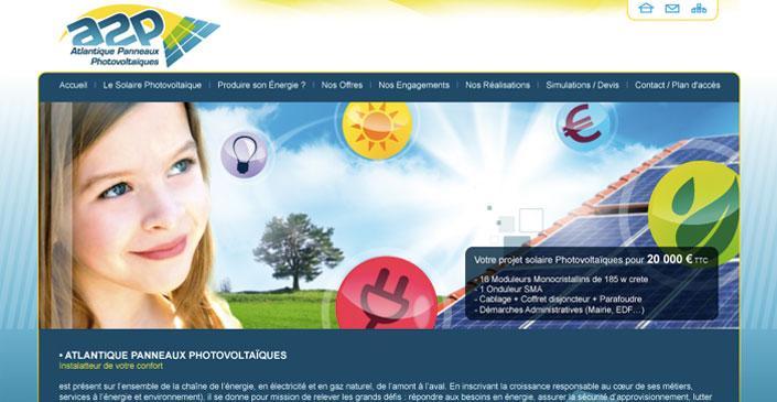 Energie Solaire Photovoltaïques : A2P