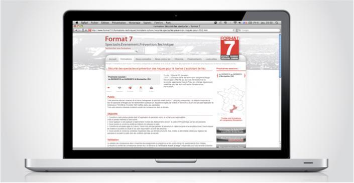 Formations évènementiel : Format 7