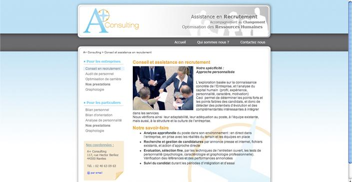 Graphologie et ressources humaines : A+ consulting