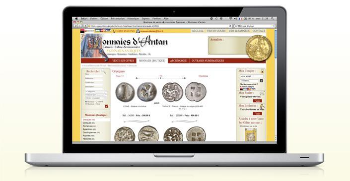Monnaies Anciennes : Monnaies d'Antan