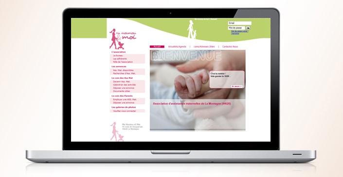 Site d'une association d'assistantes maternelles